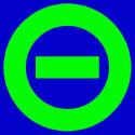 Logo blue bkgd