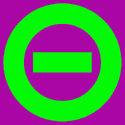 Logo purple bkgd