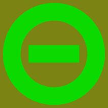Logo olive green bkgd