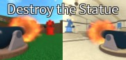 Destroy the Statue minigame choice