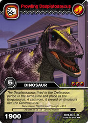Daspletosaurus DK Card