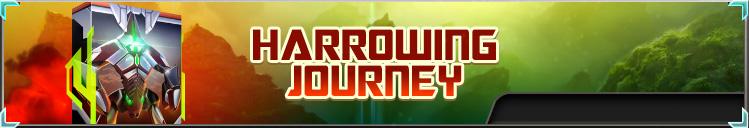 Harrowing journey box banner