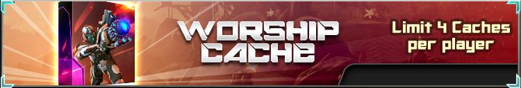 Worship cache banner