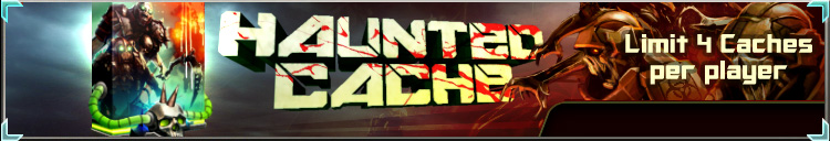 Haunted cache banner