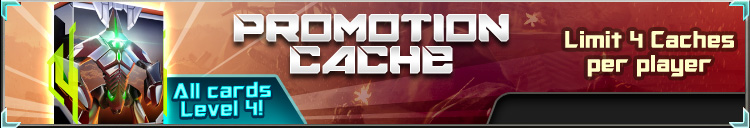 Promotion cache banner