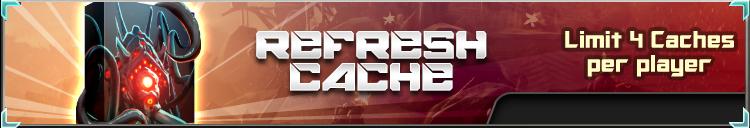 Refresh cache banner