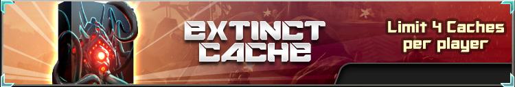 Extinct cache banner