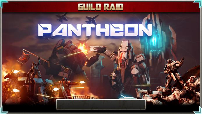 Pantheon raid banner