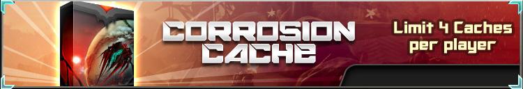 Corrosion cache banner