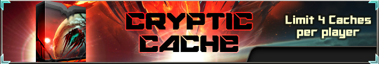 Cryptic cache banner