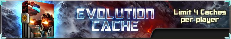 Evolution cache banner