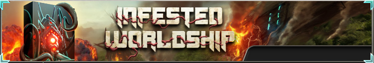 Infested worldship box banner