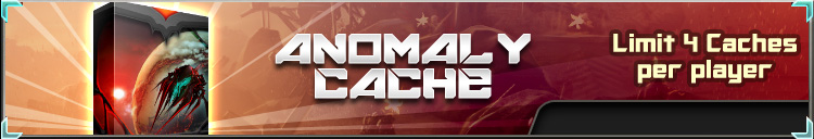 Anomaly cache banner