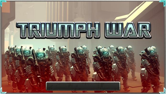 Triumph war banner