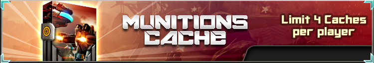 Munitions cache banner