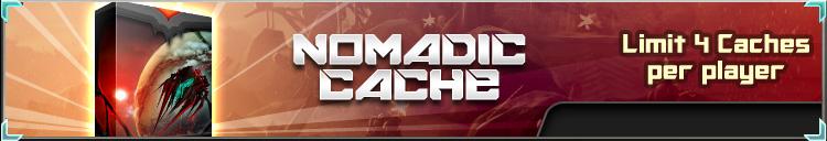 Nomadic cache banner