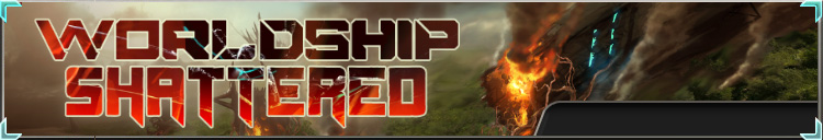 Worldship shattered banner