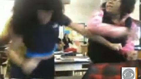 Graphic Girl Fight Captured on Video