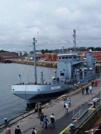Ölauffangschiff Bottsand-1-