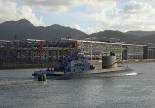 Chinese Type 093 submarine-1-