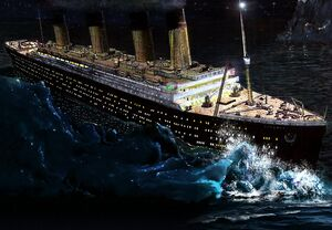 Titanic art