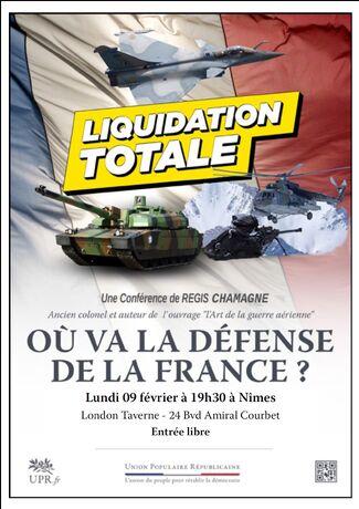 Où va la défense de la France