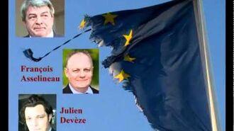 1 6 - Débat sur l'avenir de l'Europe François Asselineau VS J.C. Gayssot et J. Devèze