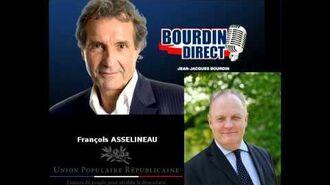 François ASSELINEAU invité de Jean-Jacques BOURDIN sur RMC INFO
