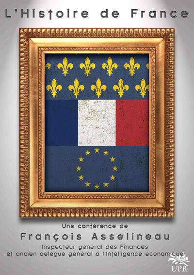 Affiche Histoire de France - Tableau triptyque