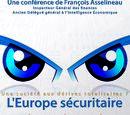 Affiche L'Europe sécuritaire