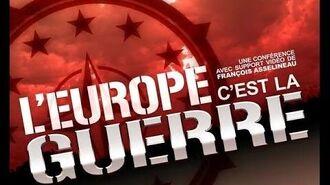 L'EUROPE, C'EST LA GUERRE ! - Conférence de François ASSELINEAU - Bourg-lès-Valence, le 23-11-2013