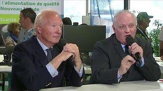 Débat entre François Asselineau et Brice Hortefeux au Sommet de l'élevage 3-10-2014