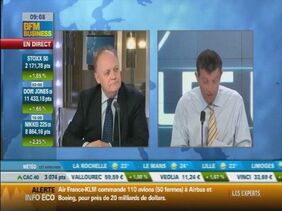 François Asselineau invité de Nicolas Doze sur BFM Business