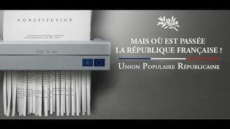 """""""Mais où est passée la République Française"""" - François ASSELINEAU à Marseille le 26-02-2013"""