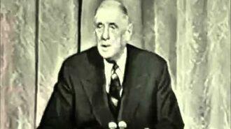 De Gaulle avait compris avant tout le monde que l'UE était une arnaque.