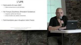 UPR - Vincent Brousseau - L'euro avant, pendant, après