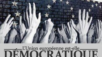 François ASSELINEAU La construction européenne est-elle encore démocratique ? 1 4 - ULB - Bruxelles
