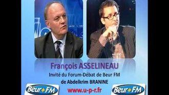 François ASSELINEAU Invité du Forum-Débat de Beur FM d'Abdelkrim BRANINE - 03-10-2012