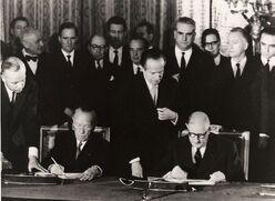 De gaulle traité de l'élysée 1963