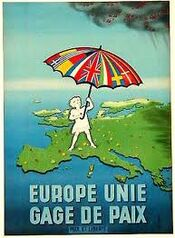 Europe unie gage de paix
