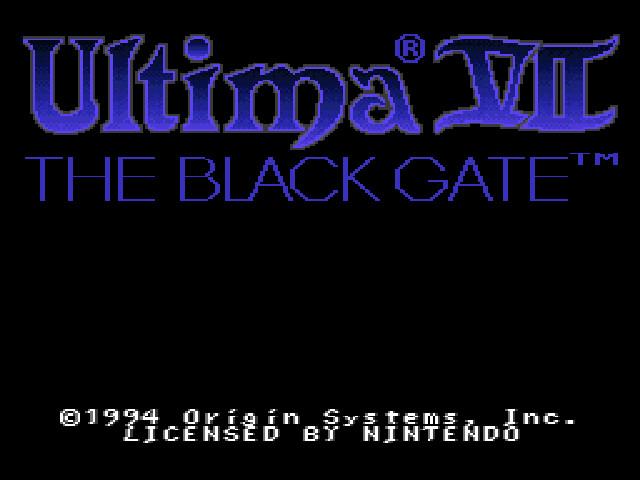 SNES-Port of Ultima VII | Editable Codex | FANDOM powered by Wikia