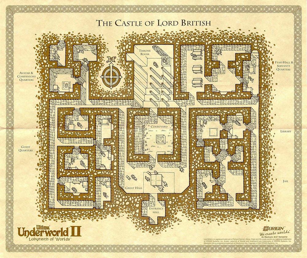 Ultima Underworld II Map | Editable Codex | FANDOM powered ... on