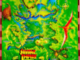 Savage Empire Map of Eodon