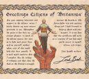 Ultima IX Dragon Edition Certificate