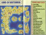 NES Map for Ultima V
