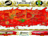 Martian Dreams Map of Mars