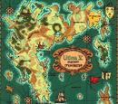 Ultima V Map of Britannia