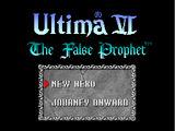 SNES-Port of Ultima VI