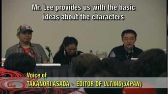 ULTIMO Shonen Jump Panel with Stan Lee and Hiroyuki Takei