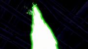 Besouro lançando laser
